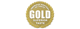 """The American Masters of Taste"" Gold Medal Seal"