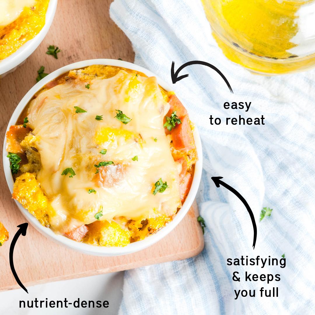 Make-Ahead Mediterranean Egg Casserole