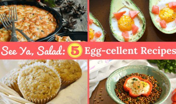5 Healthy Recipes that Aren't a Salad