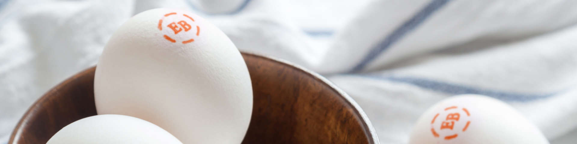 A basket of Eggland's Best Eggs