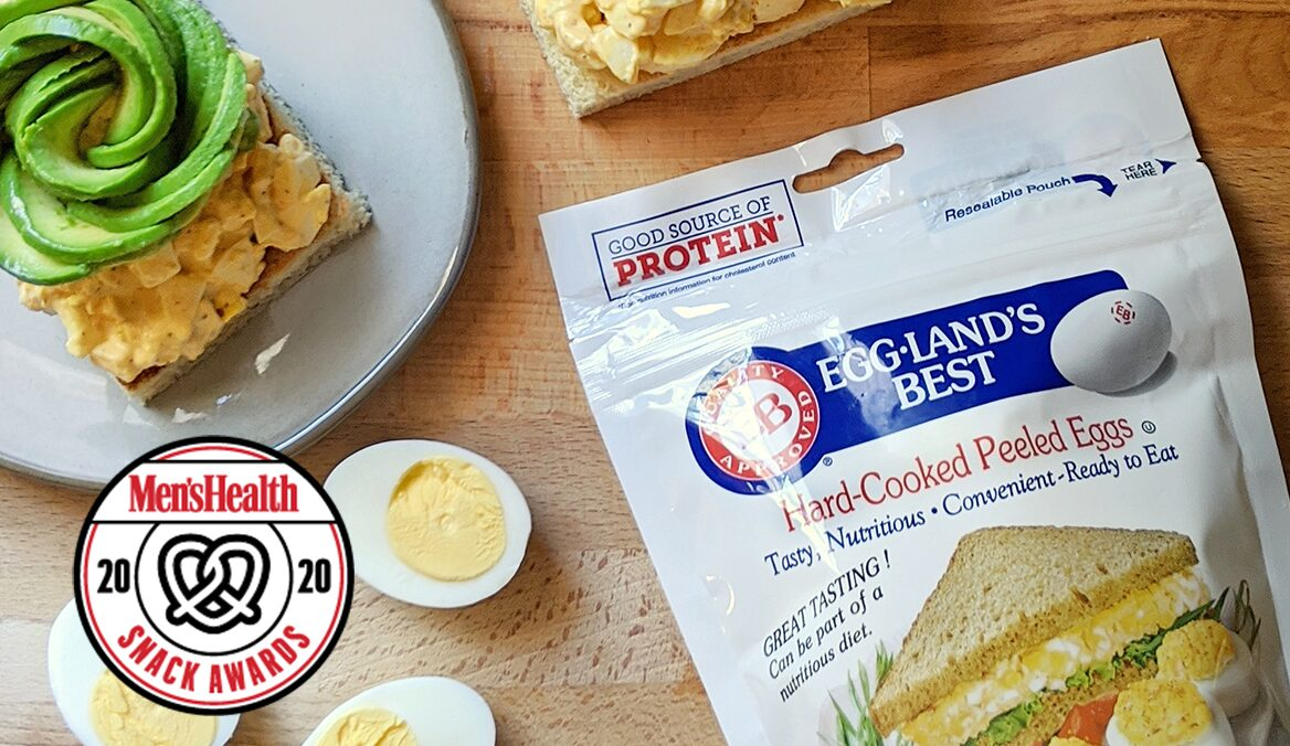 Men's Health Again Honors Eggland's Best With 2020 Best Snack Award
