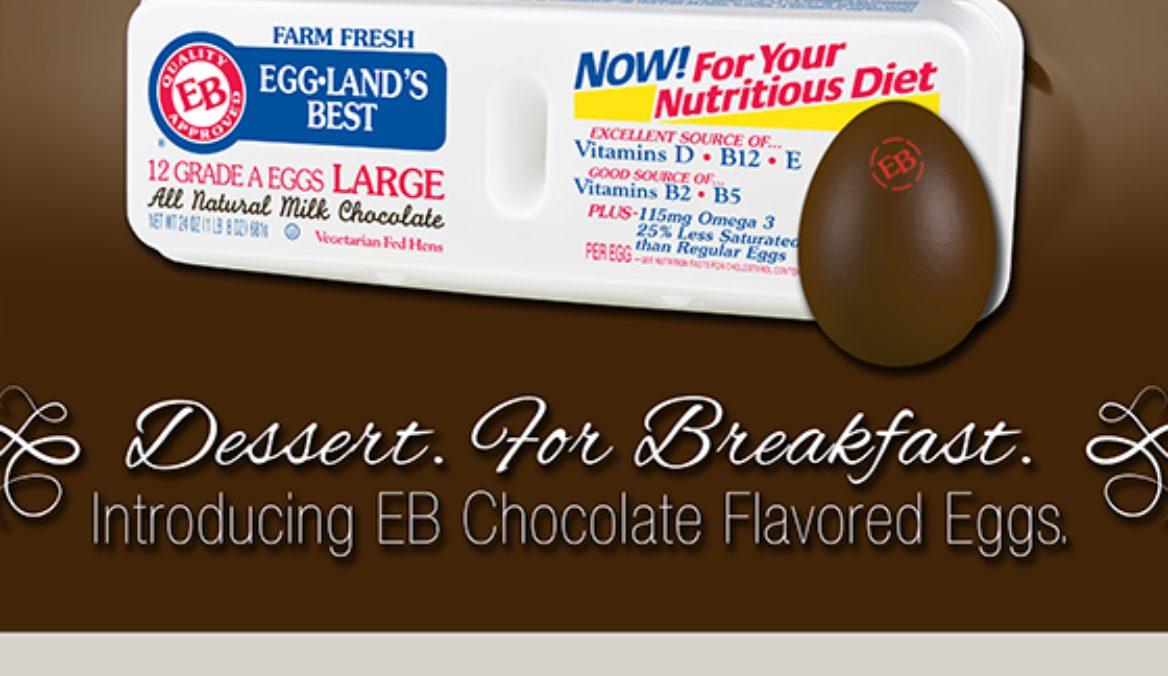 Eggland's Best Launches Milk Chocolate Eggs
