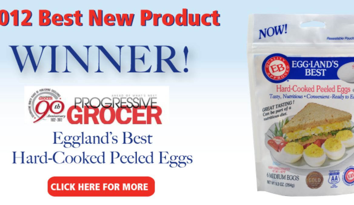 """Eggland's Best Awarded """"Best New Product"""" from Progressive Grocer"""