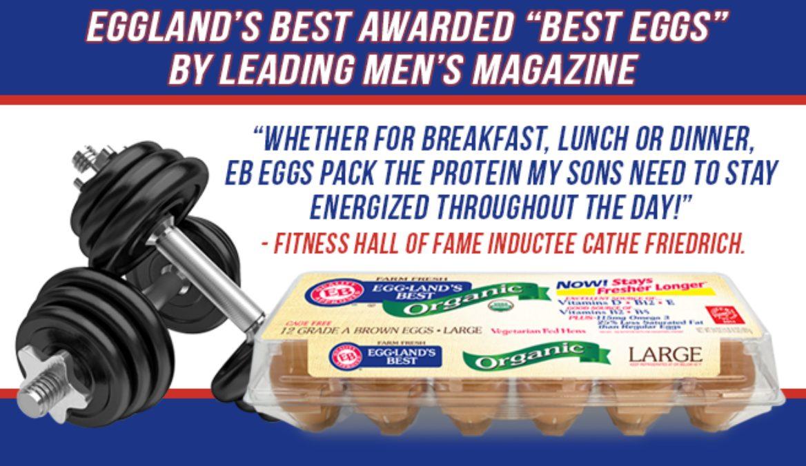 """Eggland's Best Awarded """"Best Eggs"""" By Leading Men's Magazine"""