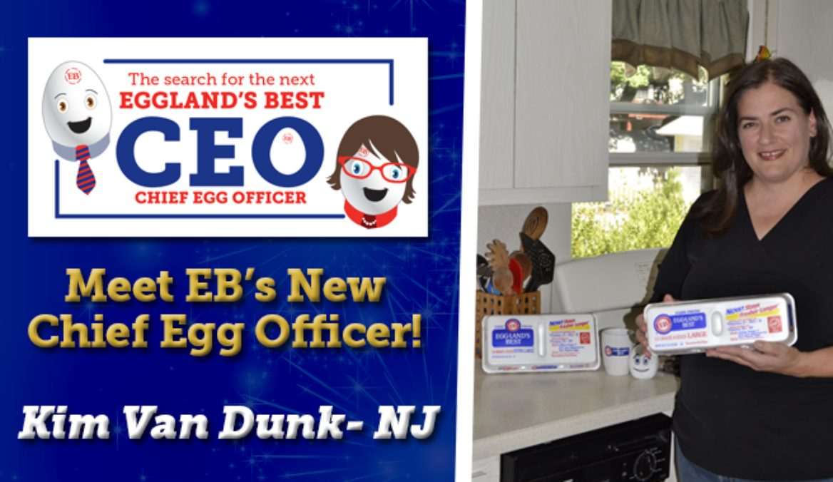 "Eggland's Best Reveals Its New ""CEO"" (Chief Egg Officer)!"