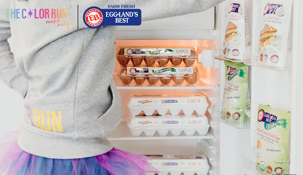 Eggland's Best Teams Up With The Color Run™ to Promote Family Fitness and Healthy Eating