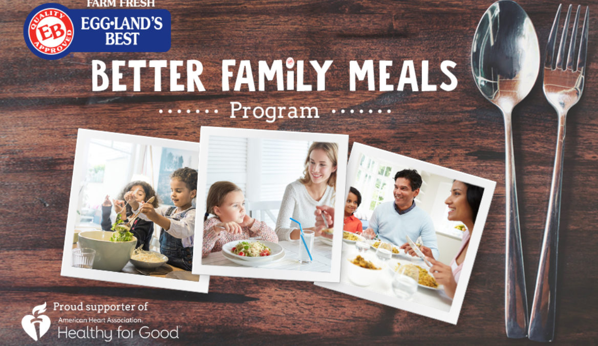 Eggland's Best Launches 2019 EB Better Family Meals Program