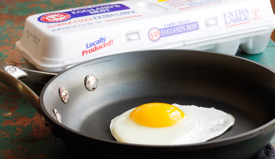 How to Perfectly Fry an EB Egg