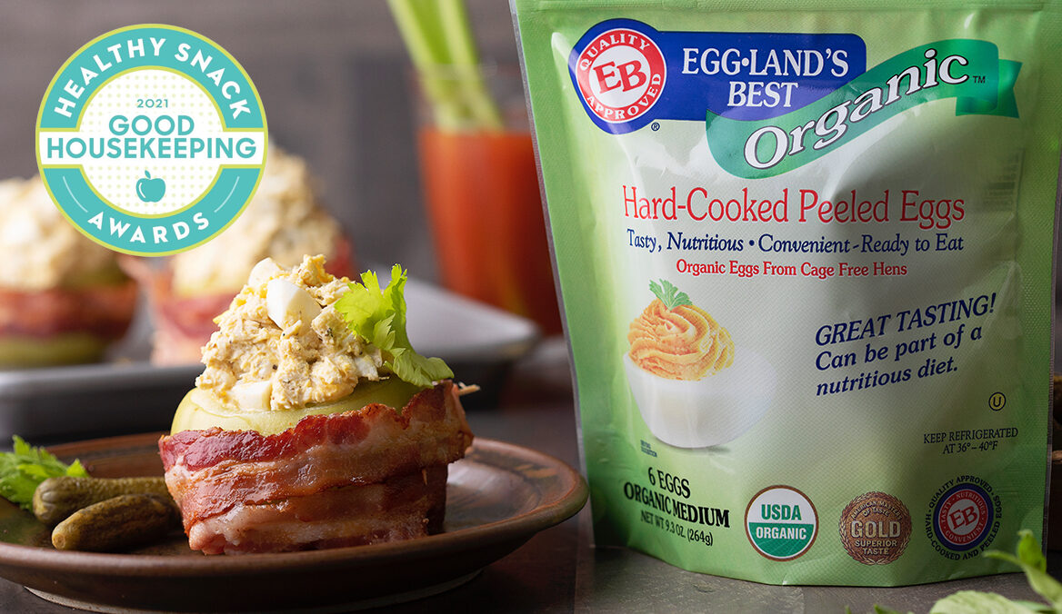 Good Housekeeping Awards Eggland's Best with 2021 Healthy Snack Award