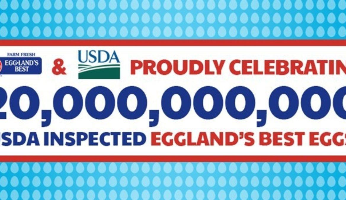 USDA Approves 20 Billionth Eggland's Best Egg