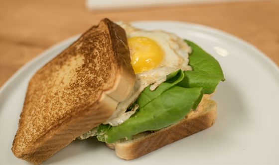 Fried Egg Green Tomato Sandwich ft. Chef Becky Reams