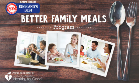 Eggland's Best Empowers Families to Choose Nutritious Foods for National Family Meals Month™
