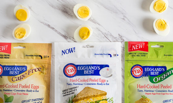 Get Back to School Ready with Eggland's Best Hard-Cooked Peeled Eggs