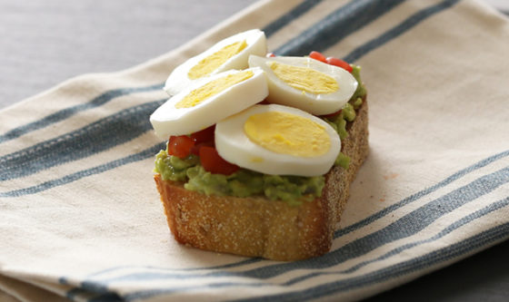 Switch it Up This #ToastTuesday with Eggland's Best Eggs