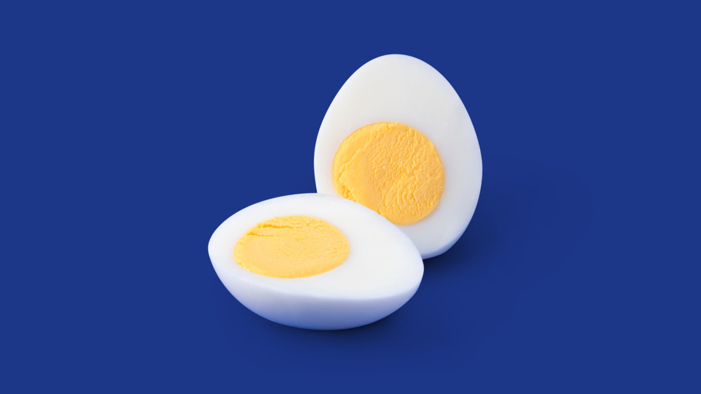 Detail of Cage Free Hard-Cooked Peeled Eggland's Best Eggs
