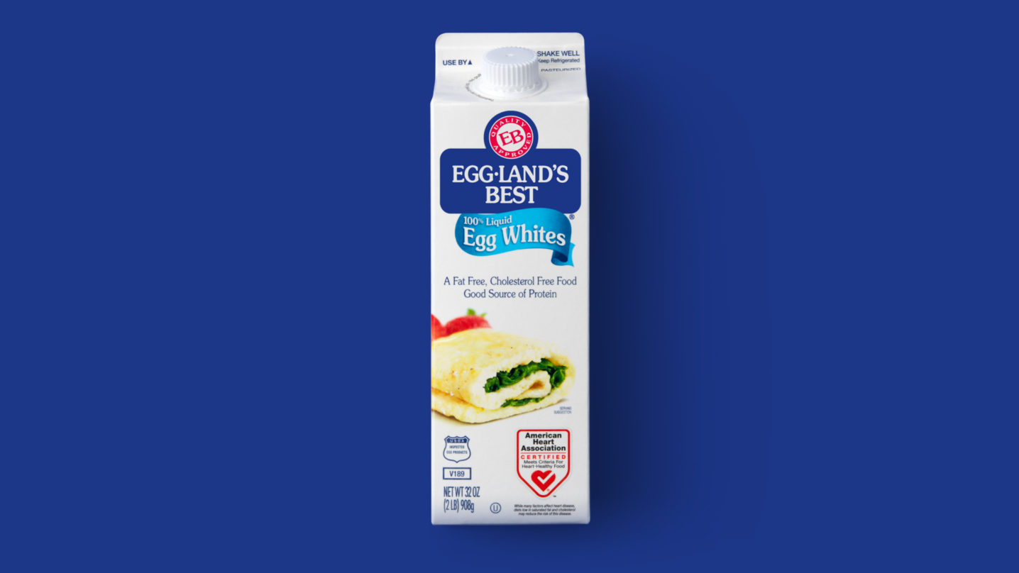 Eggland's Best 16oz Egg Whites Front
