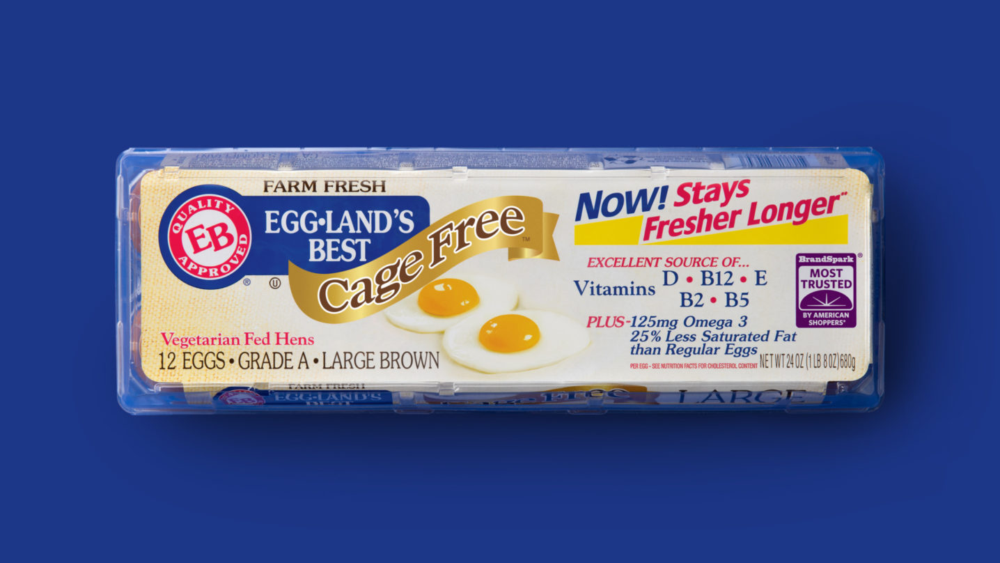 Eggland's Best 12 Count Cage Free Eggs
