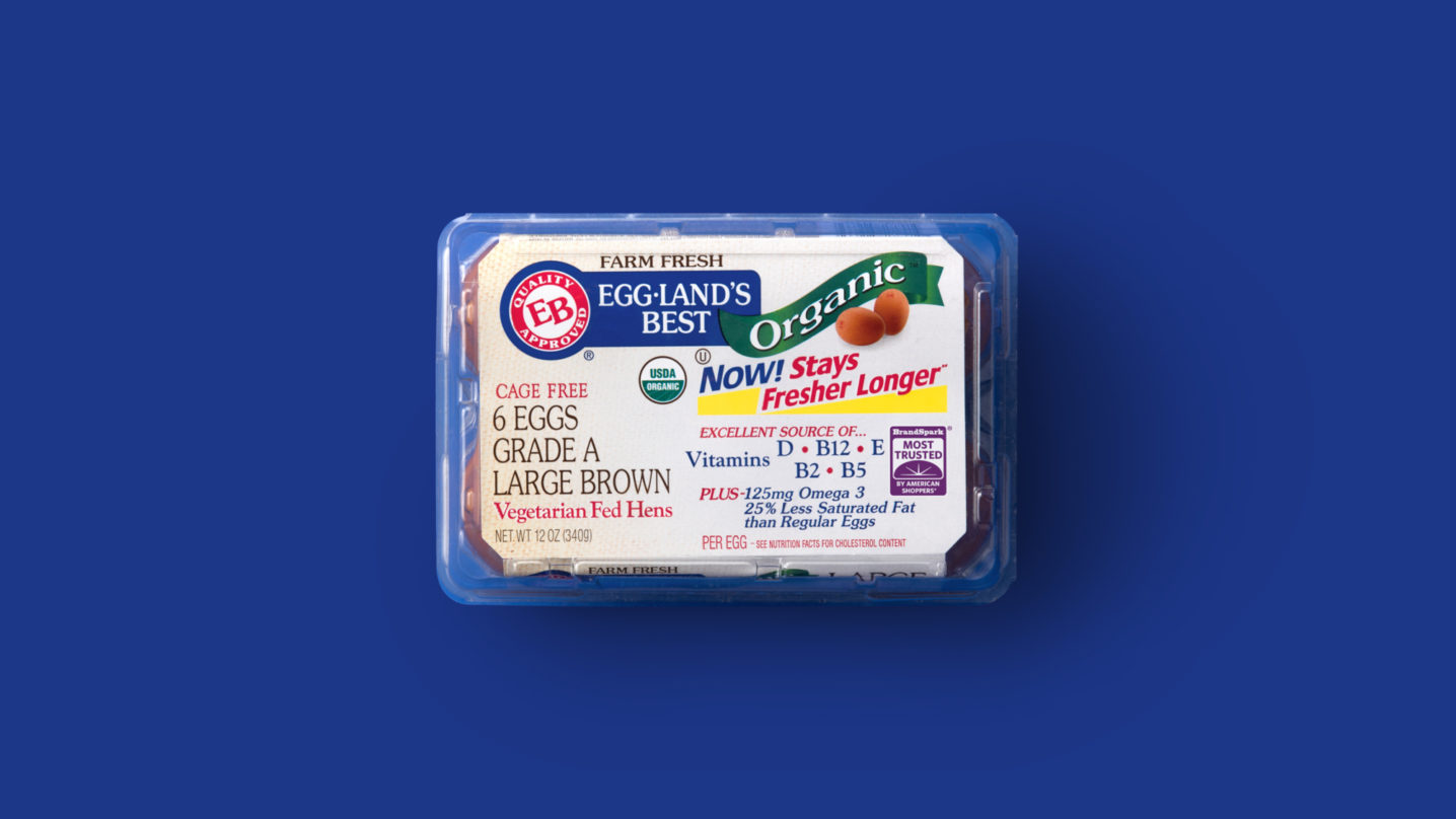 Eggland's Best 6 Count Organic Eggs