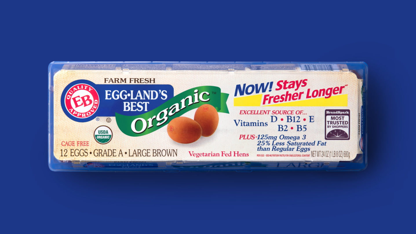 Eggland's Best 12 Count Organic Eggs