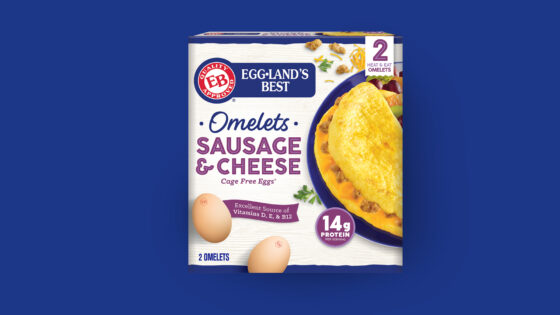 Sausage & Cheese Frozen Omelet