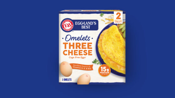 Three Cheese Frozen Omelet