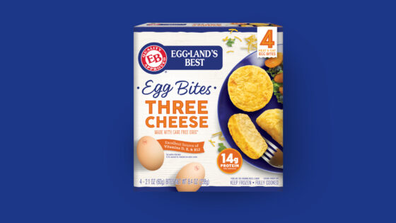 Frozen Three Cheese Egg Bites