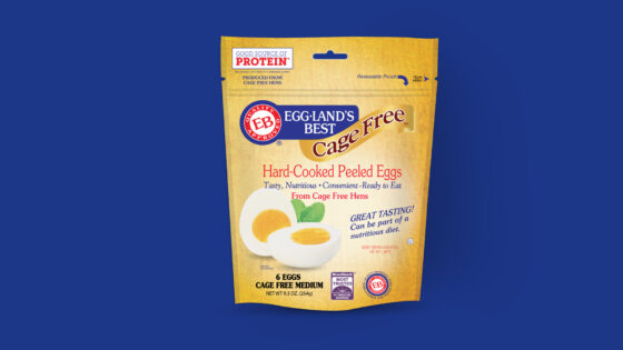Cage Free Hard-Cooked Peeled Eggs