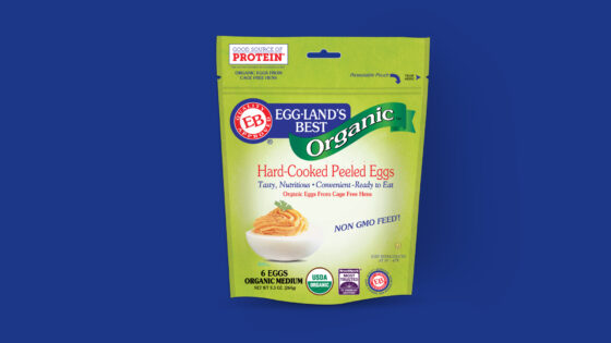 Organic Hard-Cooked Peeled Eggs