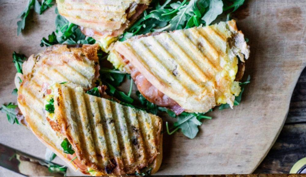 Toasty Breakfast Panini