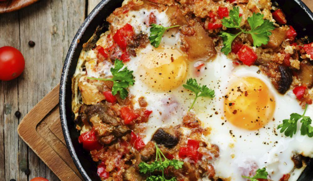 Shakshouka Muhammara Style Eggland S Best
