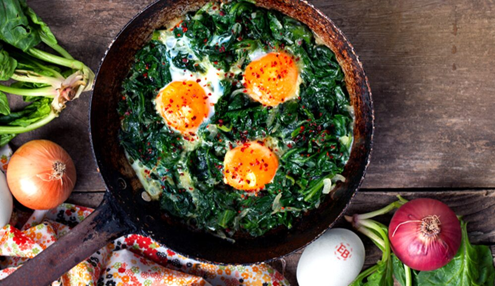 Baked EB Eggs on the Grill