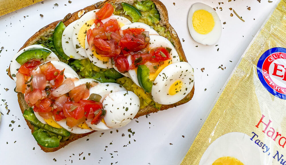 Mexican Toast with Hard-Cooked Peeled Eggs