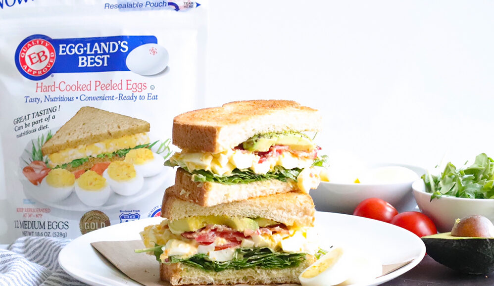 West Coast B.E.L.T Sandwich (Bacon, Egg, Lettuce, & Tomato)