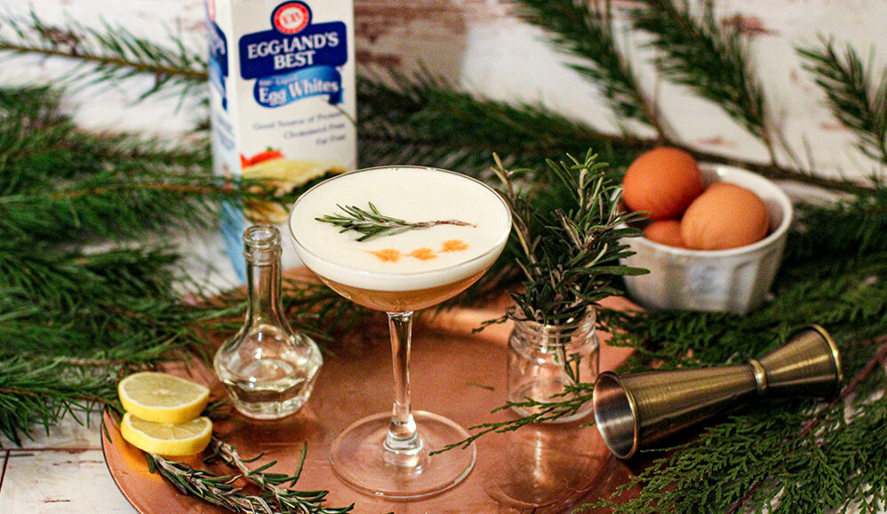 Photo of Rosemary Whiskey Sour