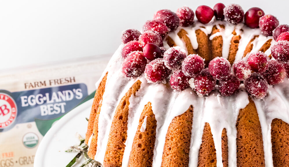 Photo of Cranberry Almond Bundt Cake