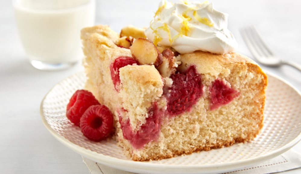 Lemon Raspberry Brunch Cake