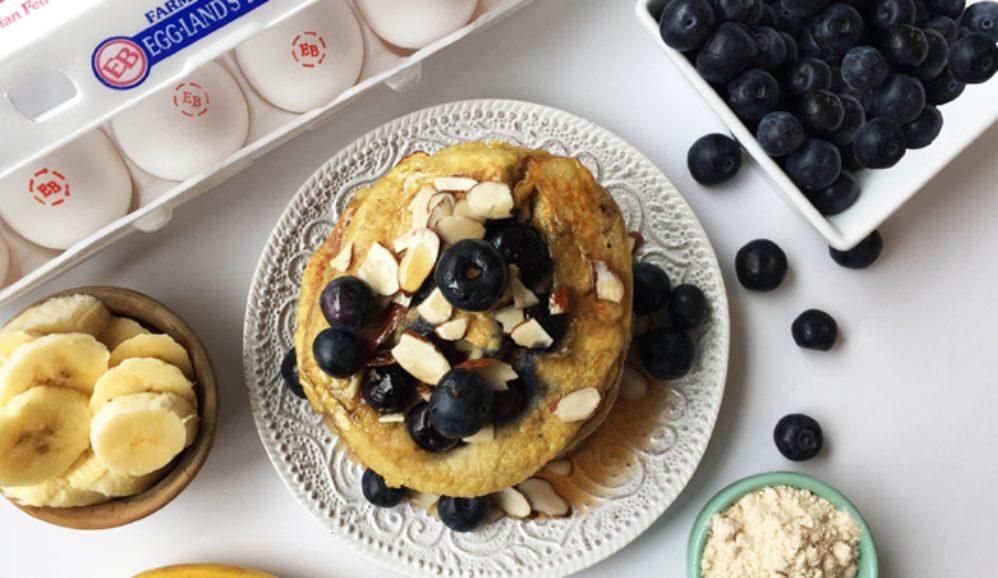 Photo of Brain Power Egg & Blueberry Pancakes