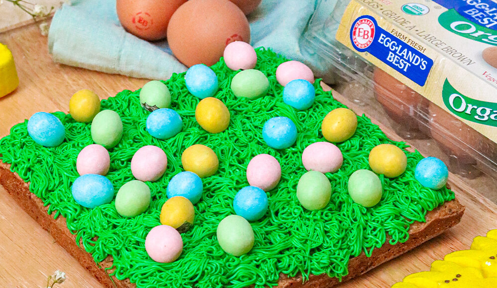 Photo of Chewy Egg Hunt Blondies