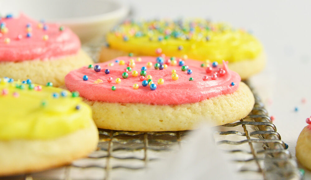 Photo of Frosted Soft Sugar Cookies