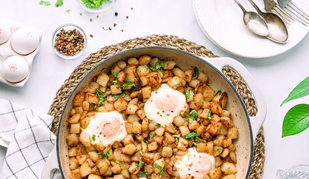 Photo of Baked Potatoes & EB Eggs