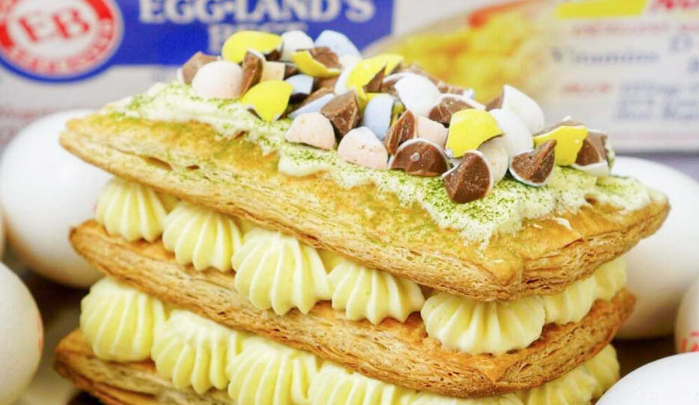 Photo of Chocolate Easter Eggs Mille-Feuille
