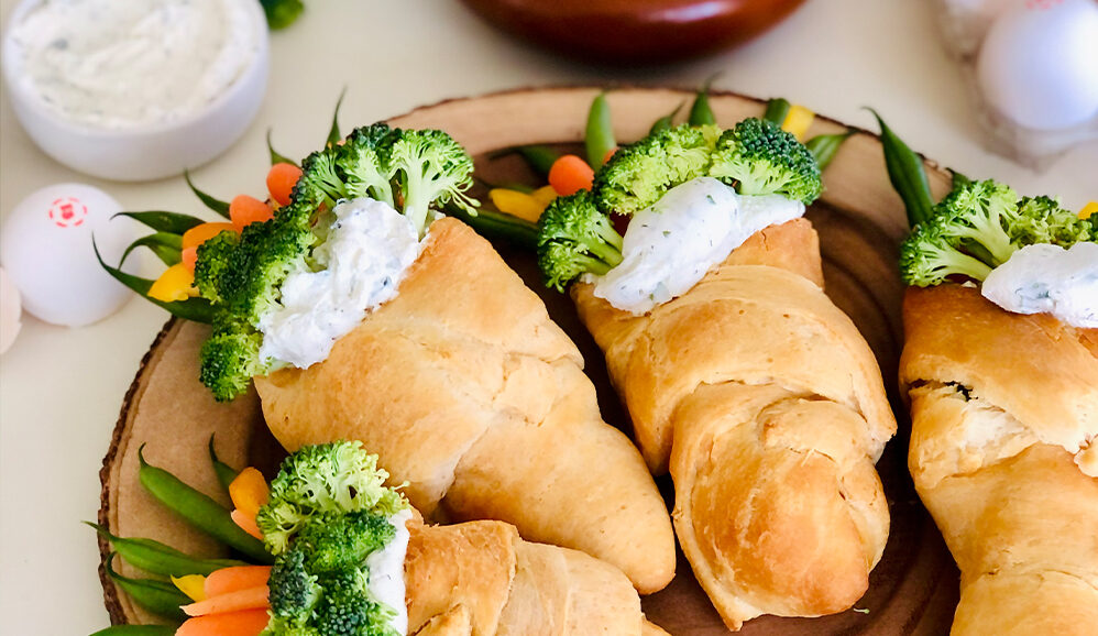 Photo of Veggie Croissant Cones
