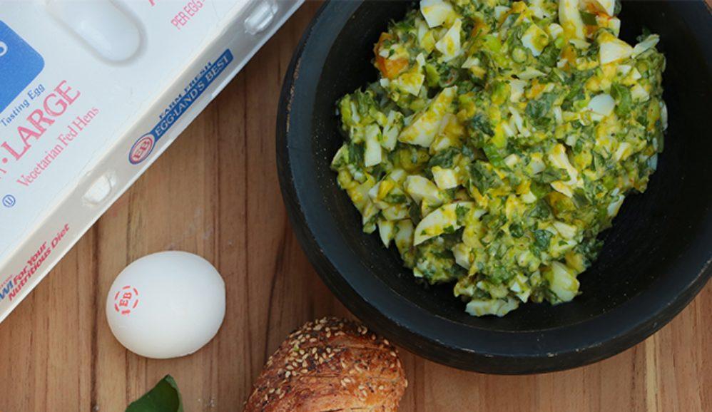 Green Goddess Egg Salad Dip