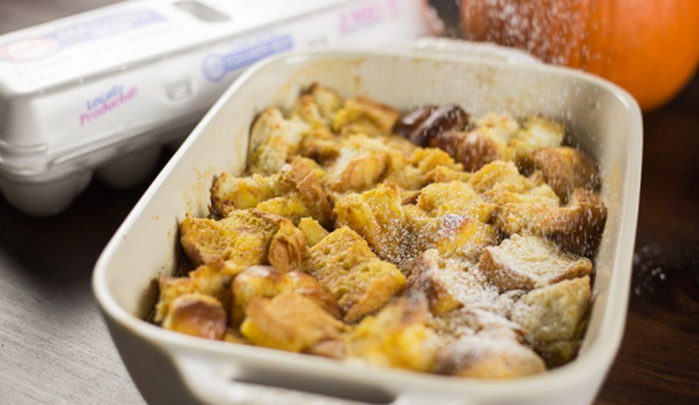 Pumpkin Spice Bread Pudding