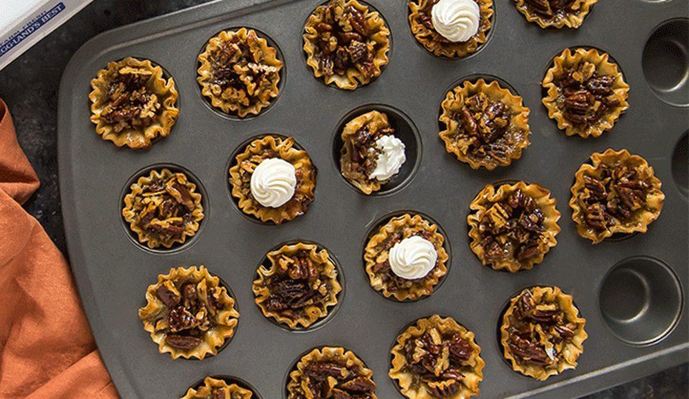 Mini Pecan Pie Tarts