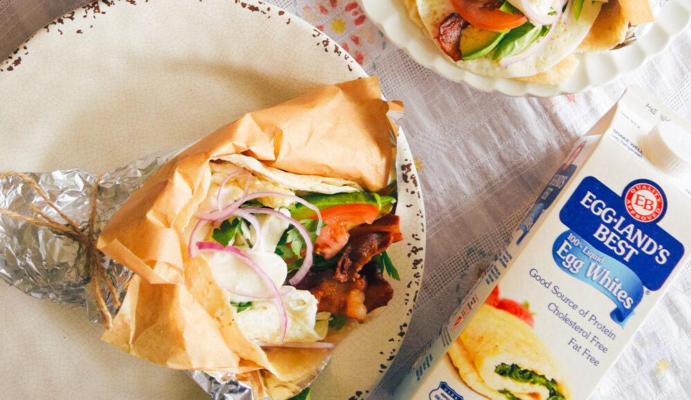 Photo of Tex-Mex Egg White Breakfast Burrito