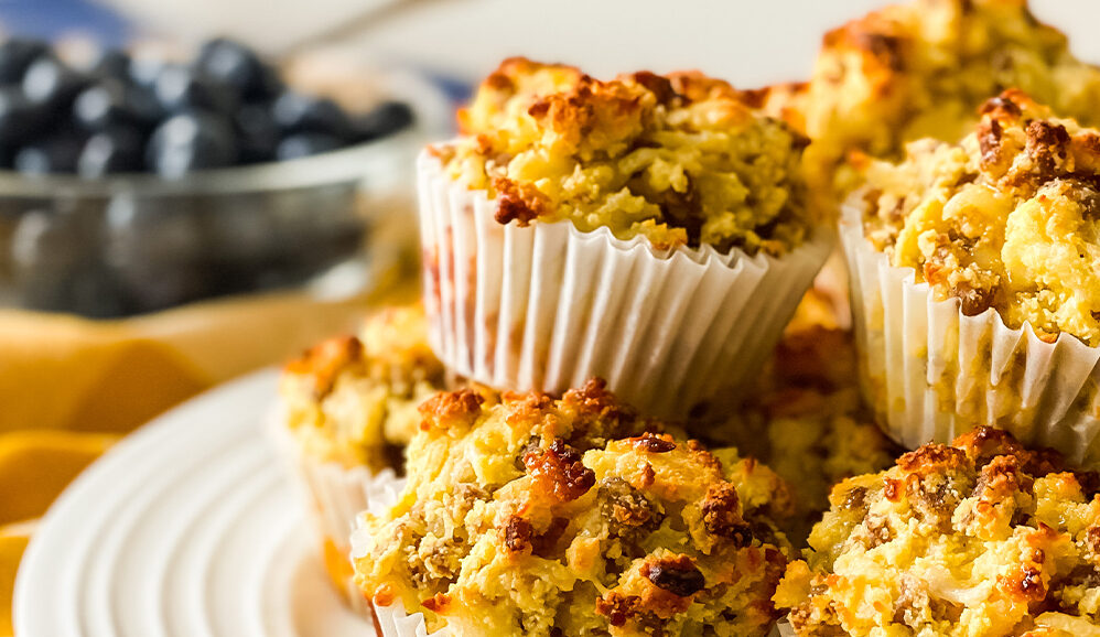 Photo of Low Carb Maple Sausage Muffins