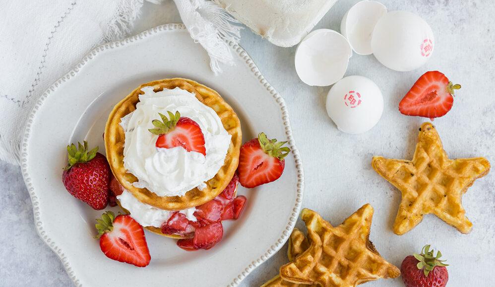 Photo of Strawberry Shortcake Waffles