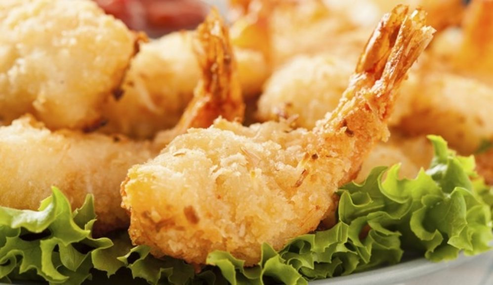 Crispy Curry Coconut Shrimp