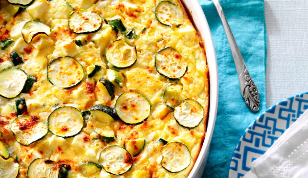 Photo of Greek Zucchini & Feta Bake